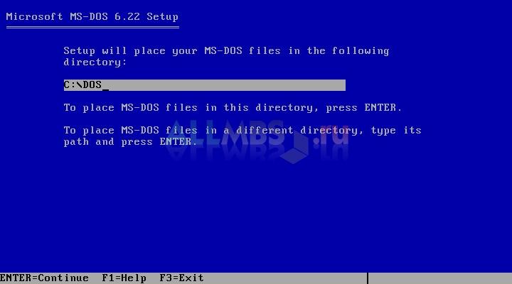 знакомство с операционной системой ms dos