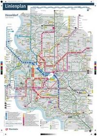 Metro Map Of Dusseldorf - Dusseldorf metro map