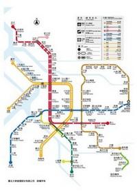 Subway Map Taipei.Metro Map Of Taipei